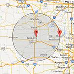 goebel map radius